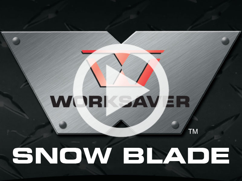 Worksaver Snow Blade